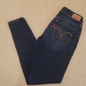 Sale!! Levis 535 legging blue jeans woman